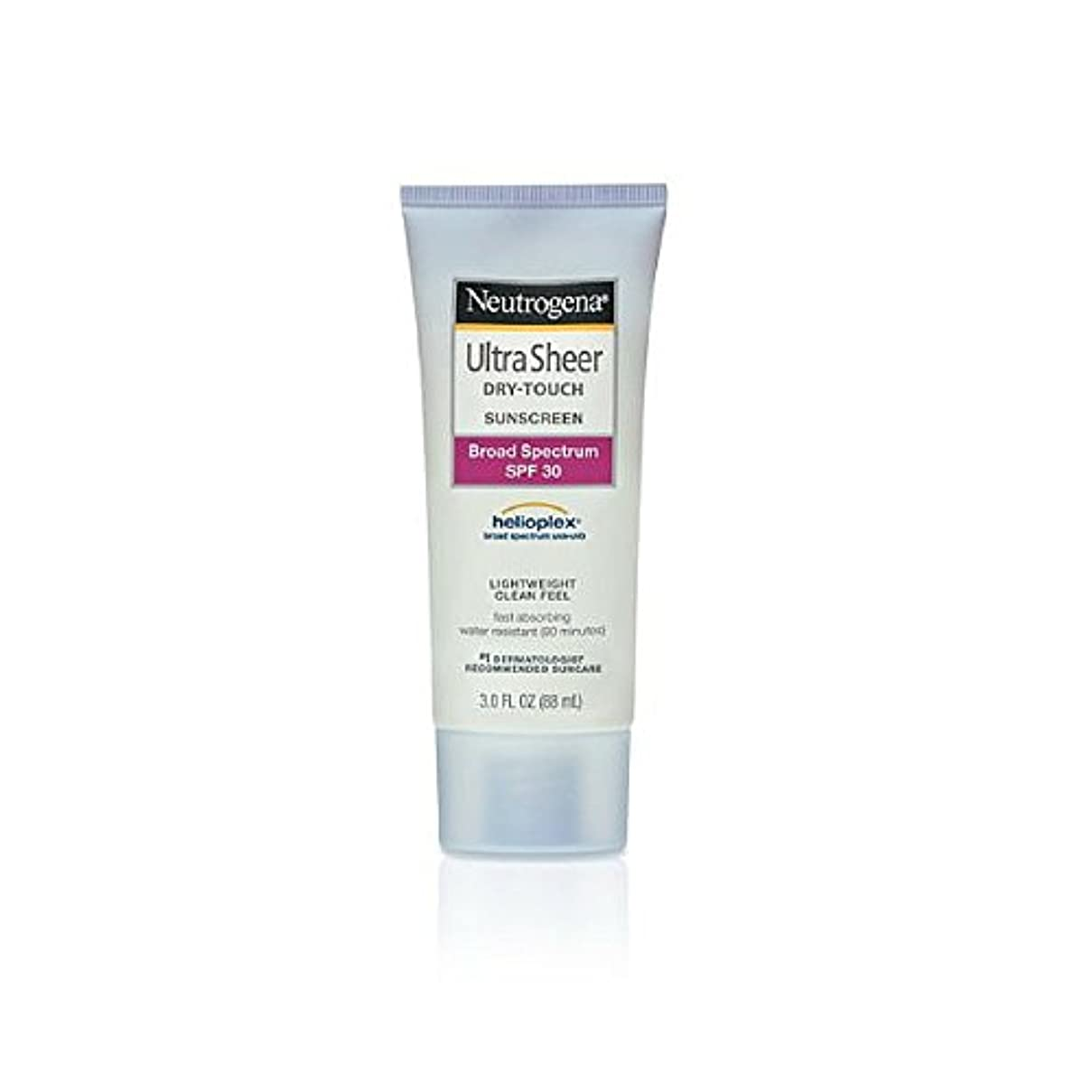 その結果ほとんどない小売Neutrogena Ultra Sheer Sunblock Dry Touch SPF 30 (並行輸入品)
