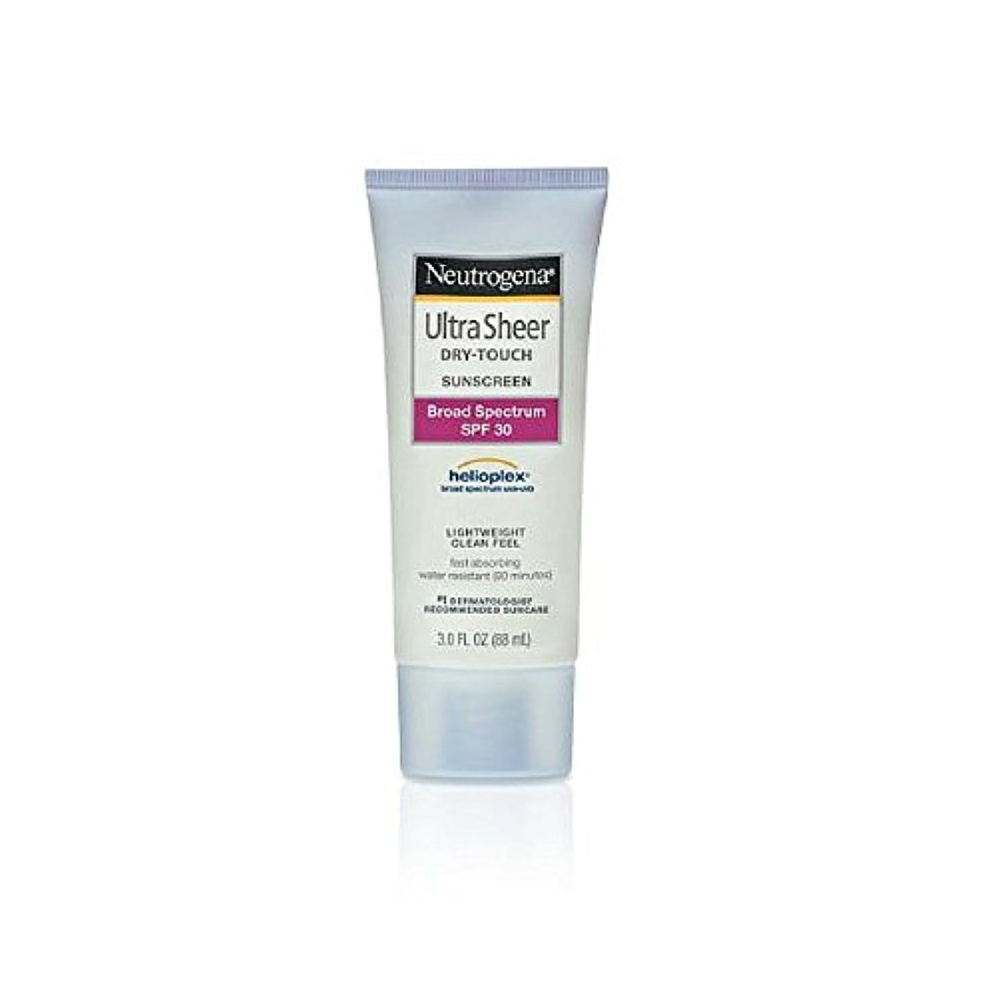 物理学者クリア配置Neutrogena Ultra Sheer Sunblock Dry Touch SPF 30 (並行輸入品)