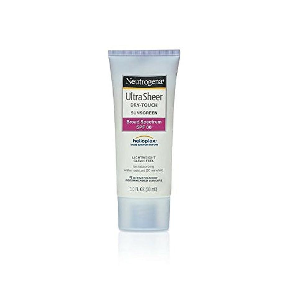 アソシエイト音楽家不規則性Neutrogena Ultra Sheer Sunblock Dry Touch SPF 30 (並行輸入品)