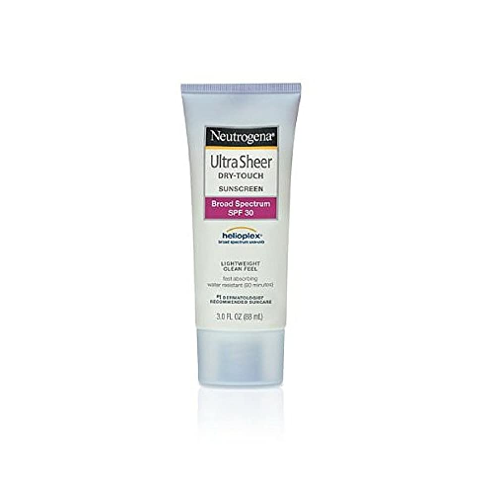 拾う心理学大声でNeutrogena Ultra Sheer Sunblock Dry Touch SPF 30 (並行輸入品)