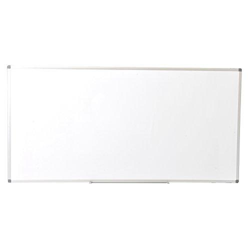 オフィスコム ホワイトボード 壁掛け 無地 1800×900mm マーカー付き OC-WB1890W