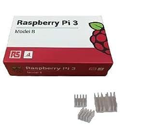 Raspberry Pi 3 Model B在庫販売 (RS)-※ヒートシンク付き