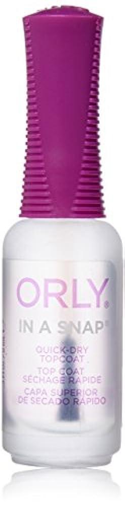 局知的結婚したOrly Nail Treatments - In-A-Snap Quick Dry - 0.3oz / 9ml