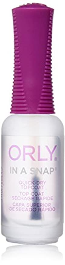 比喩廊下冗談でOrly Nail Treatments - In-A-Snap Quick Dry - 0.3oz / 9ml