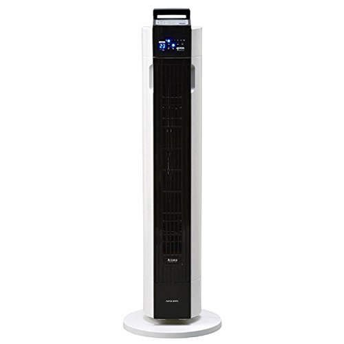熱中症対策 タワーファン 扇風機 リモコン付き