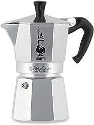 Bialetti Moka Express Coffee Maker, 4 Cup, Aluminum, CM435