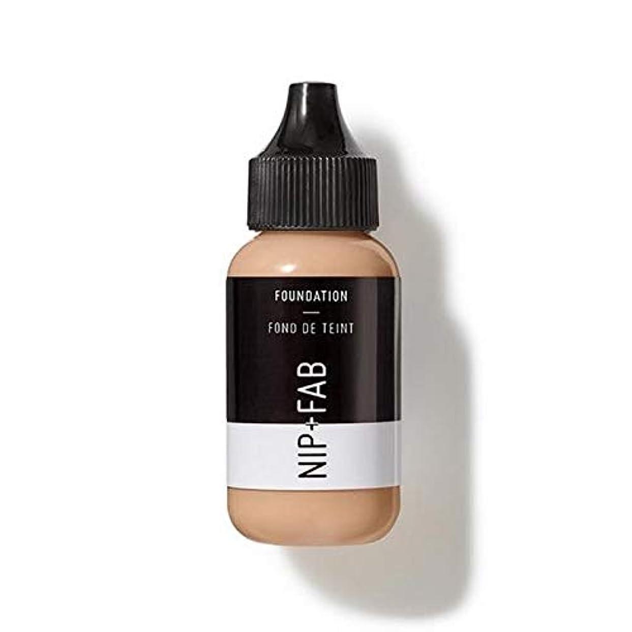 [Nip & Fab ] 基礎30ミリリットル15を構成するFab +ニップ - NIP+FAB Make Up Foundation 30ml 15 [並行輸入品]