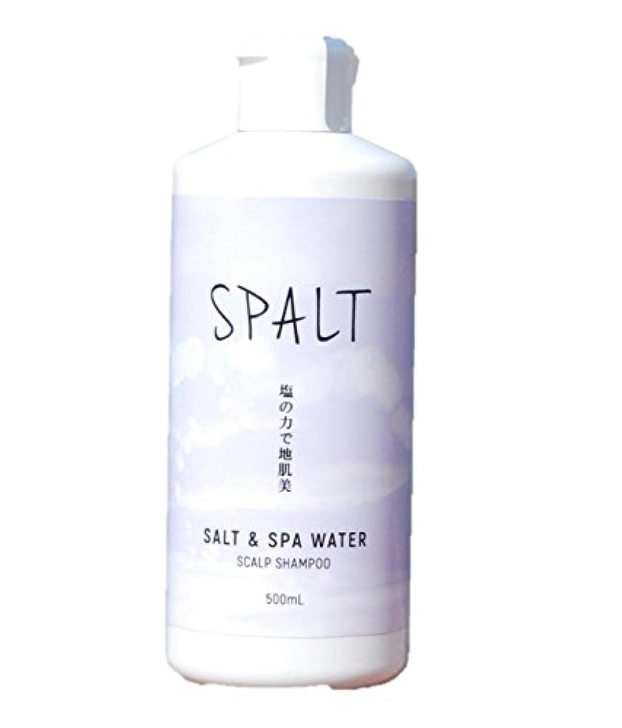 あご完璧な不合格塩シャンプー 皆生温泉水シャンプー スパルト