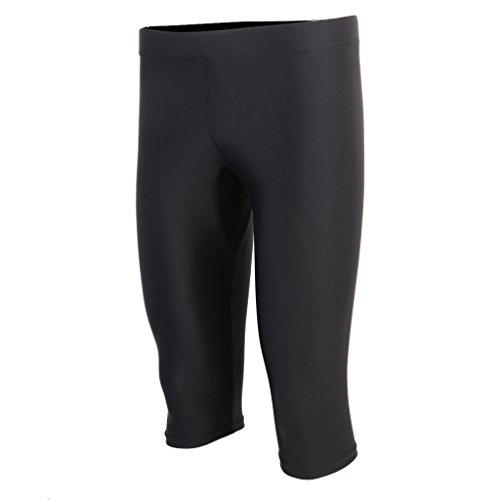 perfk ウェットスーツ メンズ ウェットパンツ ダイビングパンツ 水着 サーフィンパンツ ショートパンツ ブラック 全7サイズ