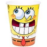 SpongeBob Classic 9 oz. Cups スポンジクラシック9オンス?カップ?ハロウィン?クリスマス?