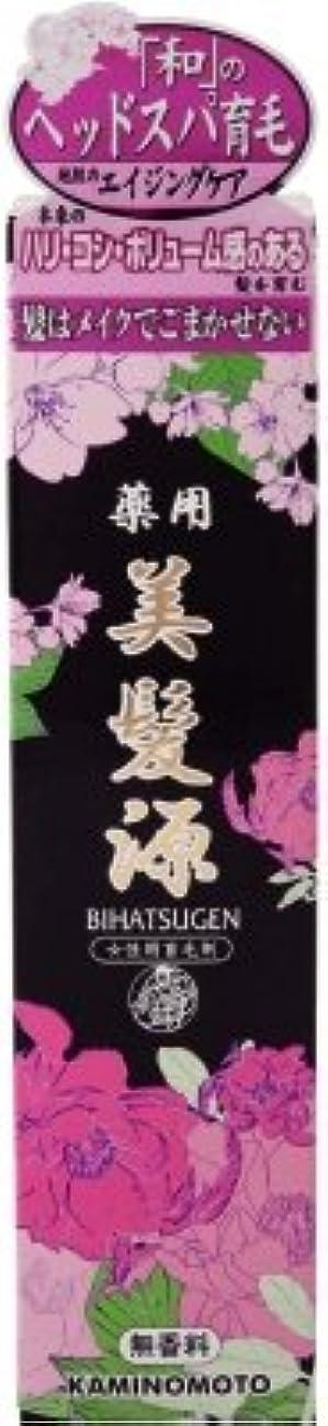 礼儀声を出してガス加美乃素本舗 薬用美髪源 無香料 150ML 医薬部外品(女性用育毛剤)×36点セット (4987046120526)