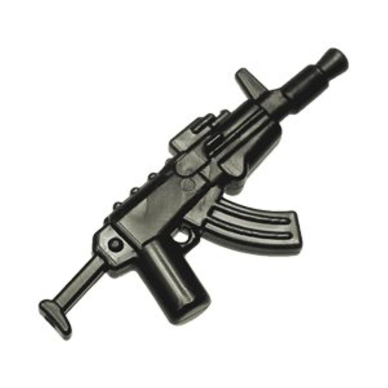 レゴブロック カスタムパーツ アサルトライフル AK-74u:[Black / ブラック] 【並行輸入品】
