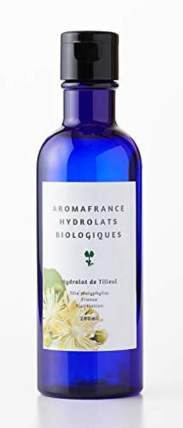 クリック音声学叫ぶアロマフランス(Aroma France)ハーブウォーター リンデン 200ml