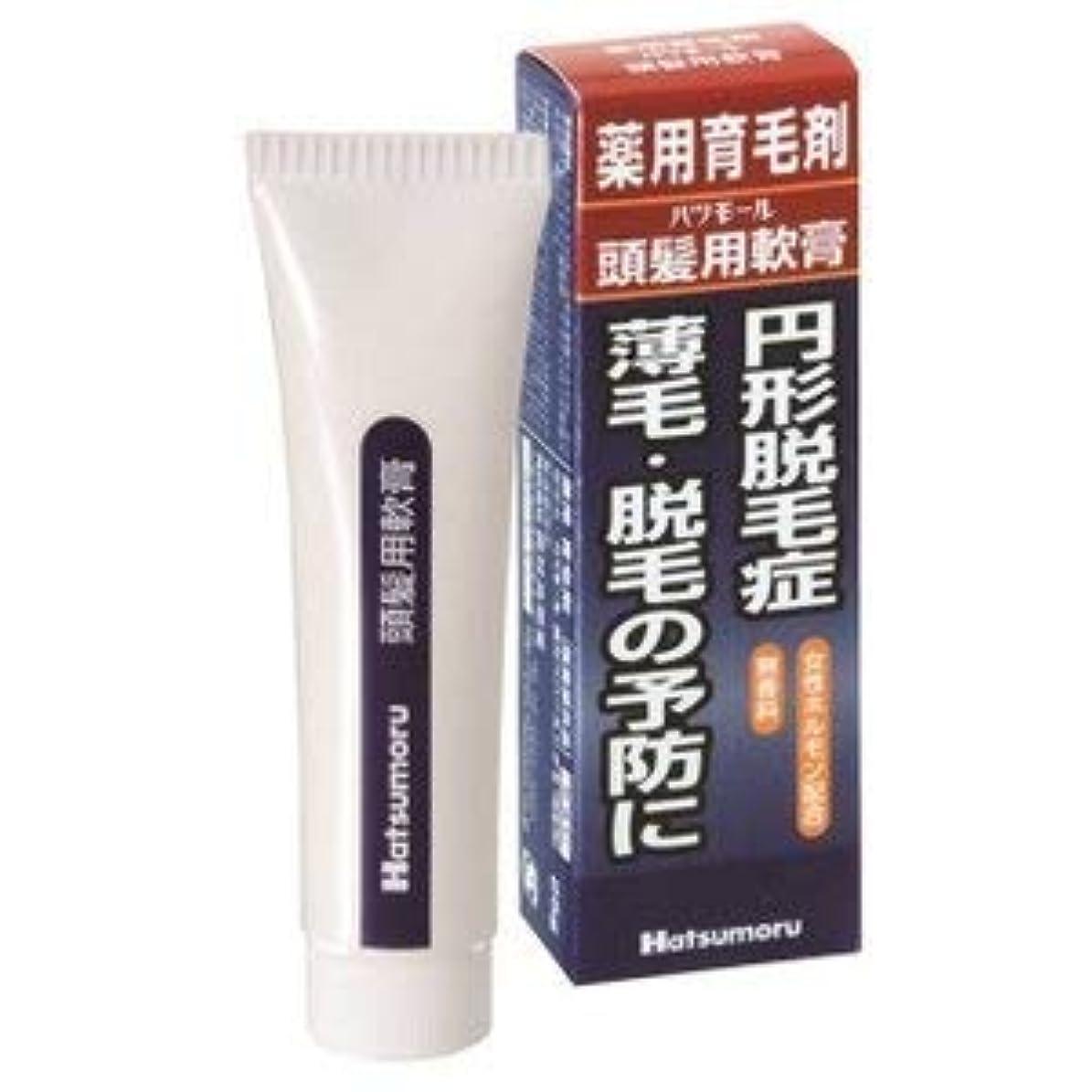 韓国プリーツ支援する【 田村治照堂】ハツモール 頭髪用軟膏 25g×3個セット
