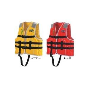 ocean life(オーシャンライフ) 国土交通省型式承認ライフジャケット 小型船舶小児用救命胴衣 Jr-1M型 Mレッド Jr-1M型 レッド