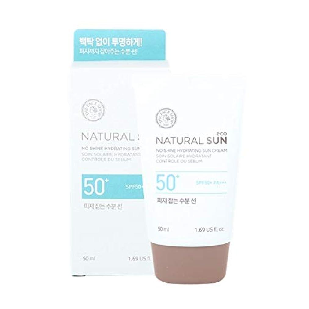 指標カブポータルザ?フェイスショップネチュロルソンエコフィジーサン?クリームSPF50+PA+++50ml x 2本セット韓国コスメ、The Face Shop Natural Sun Eco No Shine Hydrating Sun...