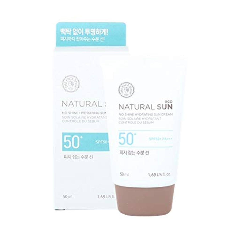 赤外線フラフープ軽蔑ザ?フェイスショップネチュロルソンエコフィジーサン?クリームSPF50+PA+++50ml x 2本セット韓国コスメ、The Face Shop Natural Sun Eco No Shine Hydrating Sun...