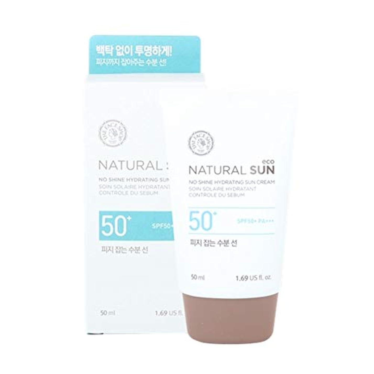 パプアニューギニア燃料月ザ?フェイスショップネチュロルソンエコフィジーサン?クリームSPF50+PA+++50ml x 2本セット韓国コスメ、The Face Shop Natural Sun Eco No Shine Hydrating Sun...