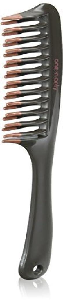 持参事業内容顔料One 'n Only Argan Heat Volume Detangling Comb [並行輸入品]