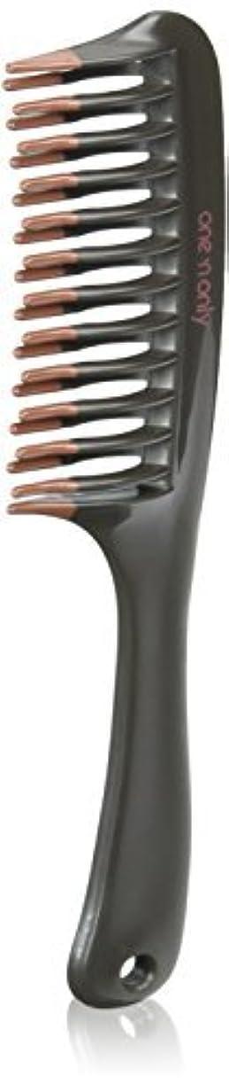 見物人離れて舌なOne 'n Only Argan Heat Volume Detangling Comb [並行輸入品]