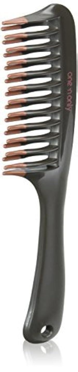 わがまま悪質な収まるOne 'n Only Argan Heat Volume Detangling Comb [並行輸入品]