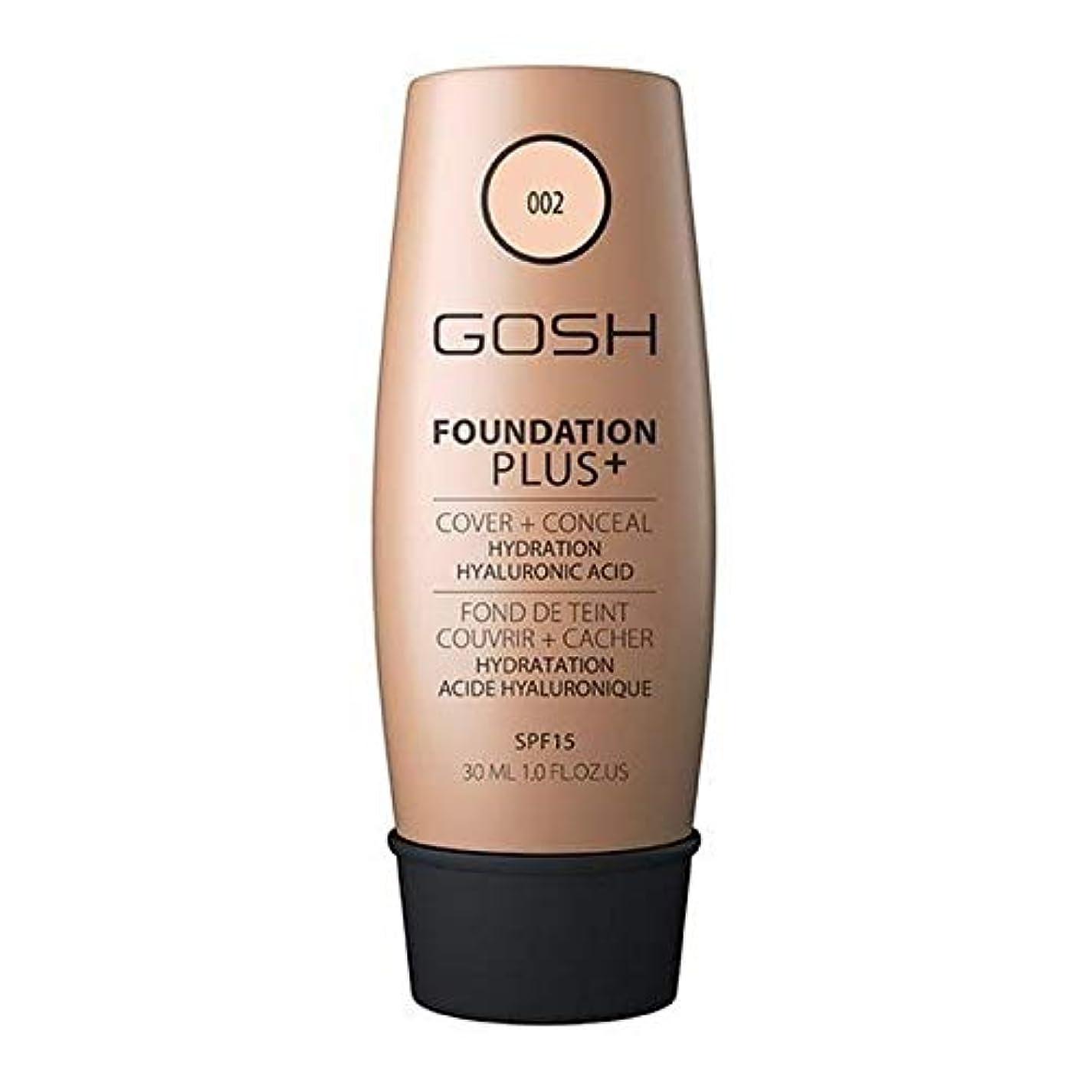 科学誰の拡声器[GOSH ] おやっ基礎プラス+アイボリー002 - Gosh Foundation Plus+ Ivory 002 [並行輸入品]