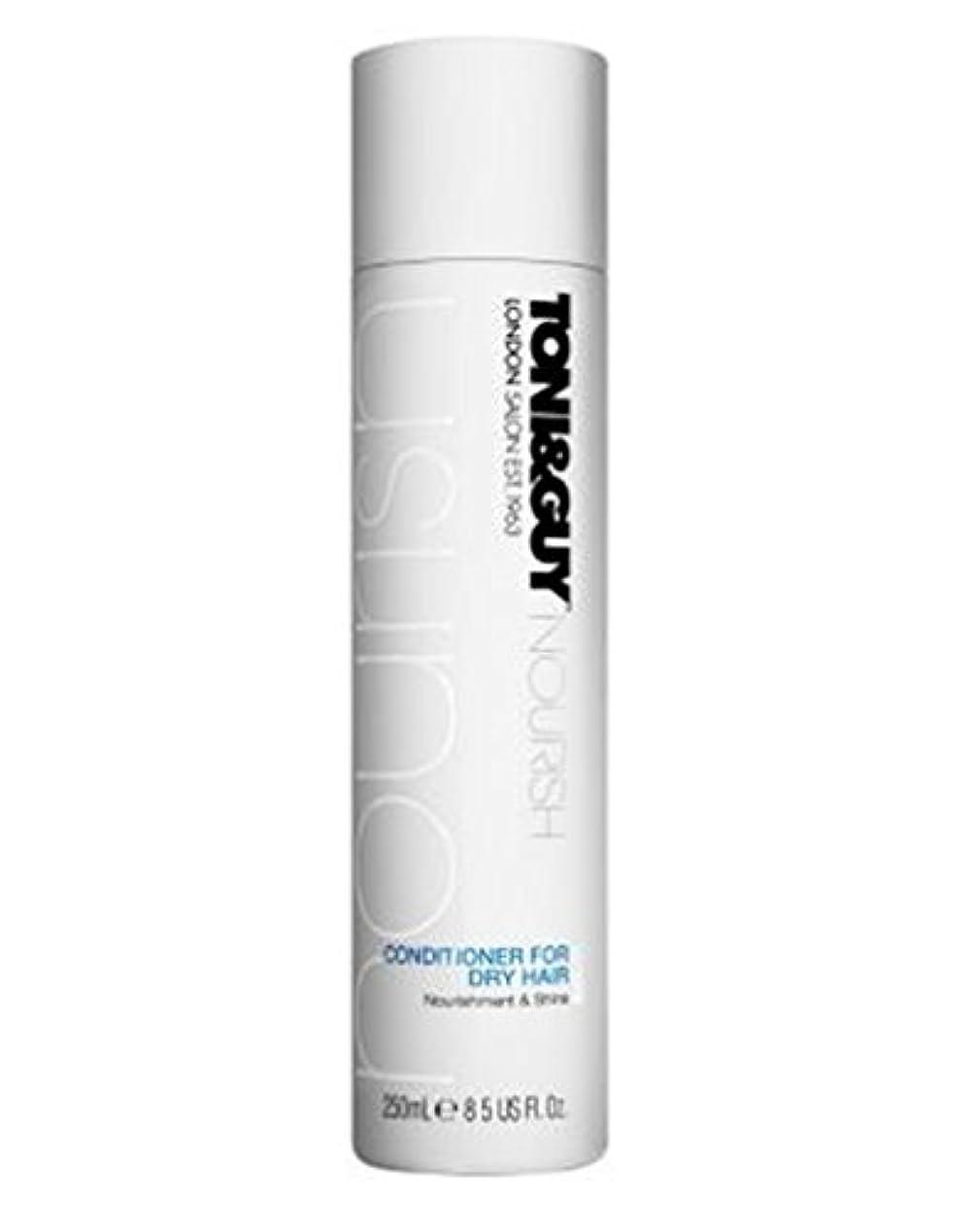 光景マウスピースオントニ&男は乾いた髪の250ミリリットルのためにコンディショナーを養います (Toni & Guy) (x2) - Toni&Guy Nourish Conditioner for Dry Hair 250ml (Pack...