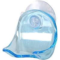 剃刀ラック ホルダー 吸盤 浴室用 バス用品 プラスチック カミソリトレイ パーソナルケア ツール ホームリビング コンパクト 1pcs