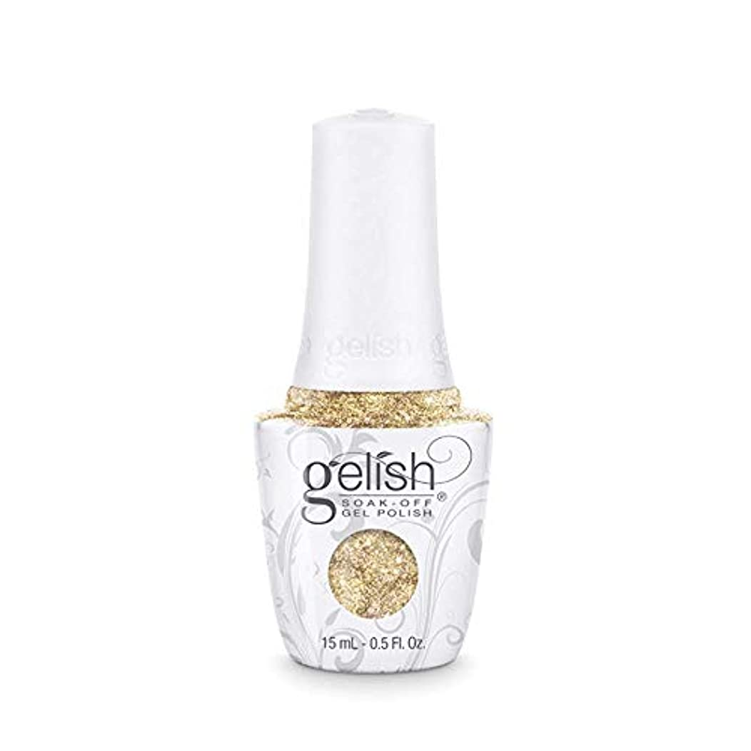 バンク癌全くHarmony Gelish - Golden Treasure - 0.5oz/15ml