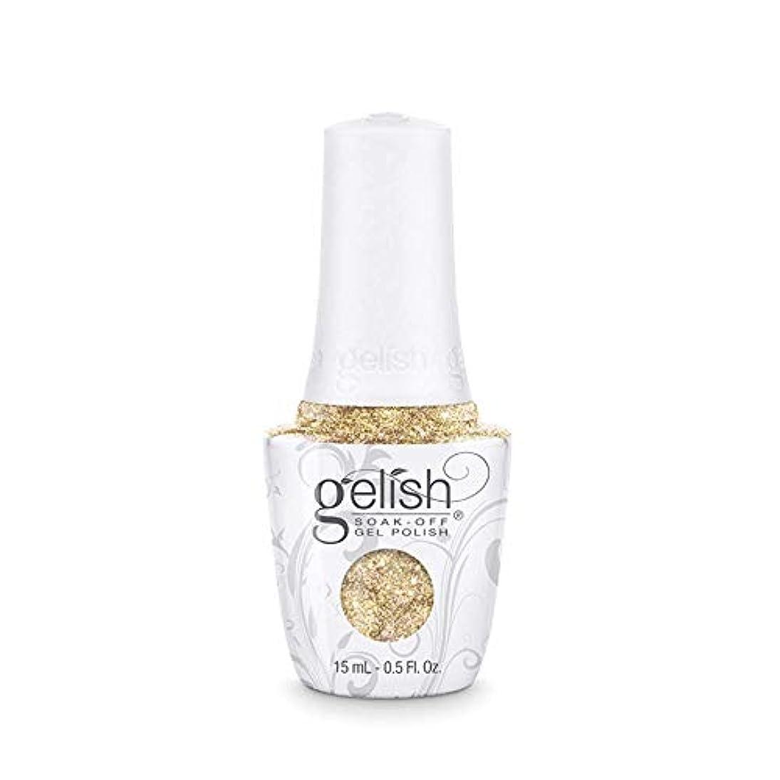 空気水銀の貸すHarmony Gelish - Golden Treasure - 0.5oz/15ml