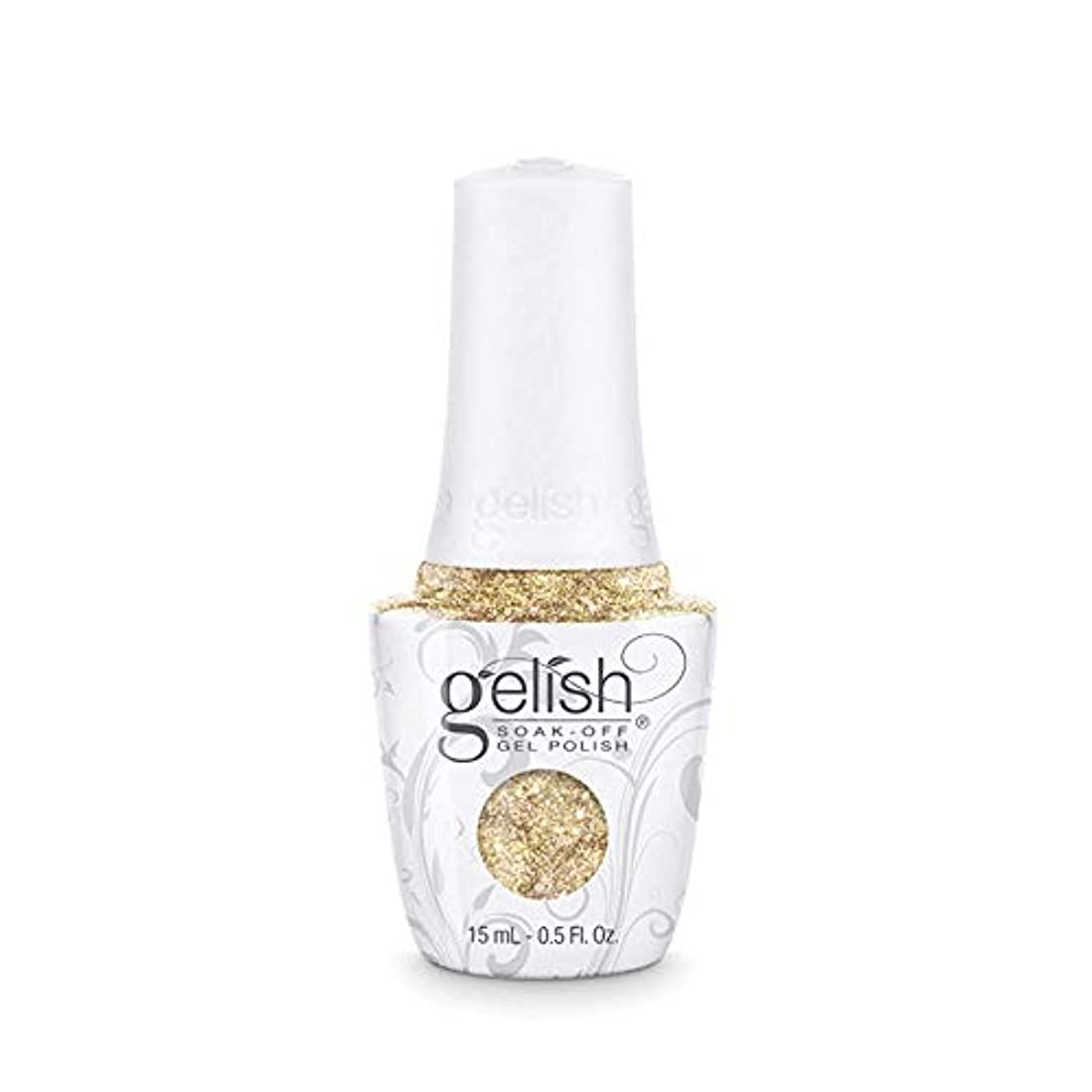 熱帯の征服者将来のHarmony Gelish - Golden Treasure - 0.5oz/15ml
