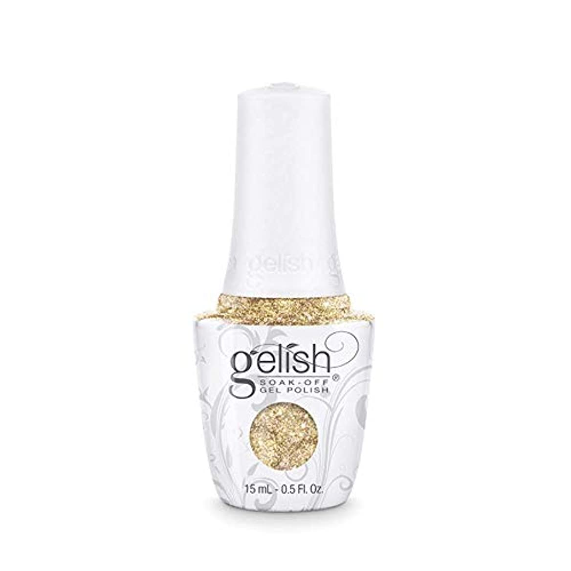 ぬれたばかテーマHarmony Gelish - Golden Treasure - 0.5oz/15ml