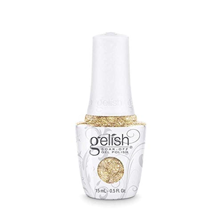 ほのめかす後ろに満足できるHarmony Gelish - Golden Treasure - 0.5oz/15ml