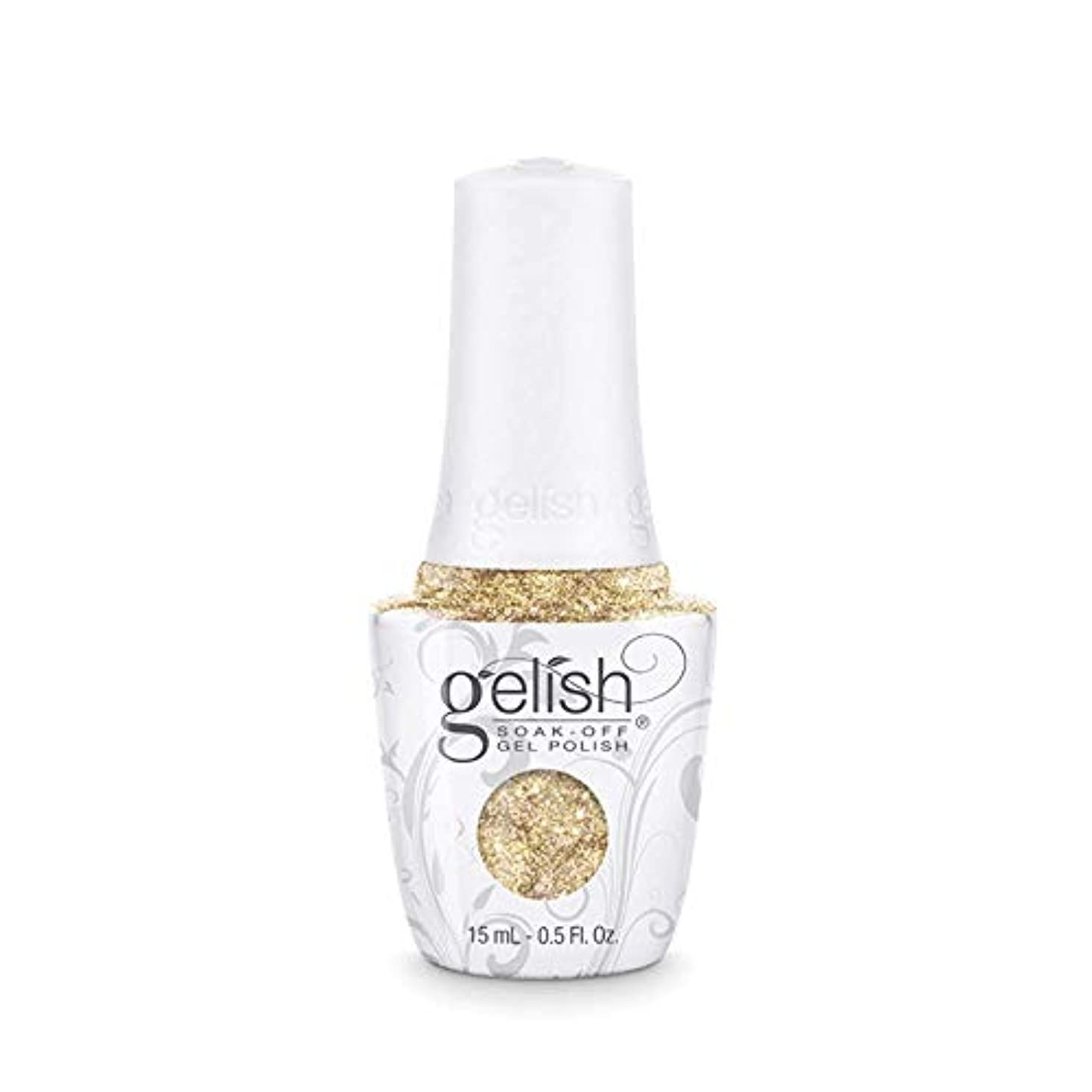 才能再編成する面積Harmony Gelish - Golden Treasure - 0.5oz/15ml