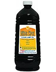 Lamplight Farms 60001 Ultra Pure Lamp Oil, Clear, 2960ml/2.96-Litre