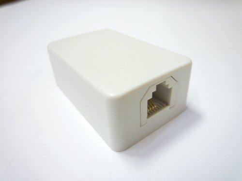 スカイニー 6極2,4芯兼用 モジュラーローゼット(コンパクトタイプ) MJ-4S-4C