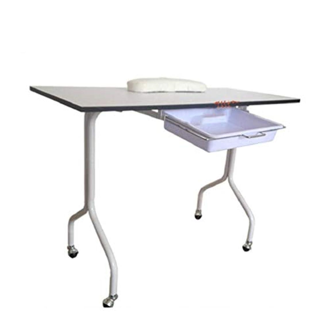 温室信仰しなやかなネイルテーブルポータブルマニキュアテーブルベントネイルデスクワークステーションサロンスパネイルリストレストアートビューティーサロンツール