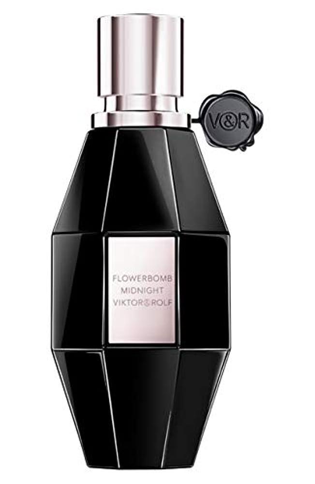 型カカドゥ受粉者ビクター & ロルフ Flowerbomb Midnight Eau De Parfum Spray 50ml/1.7oz並行輸入品