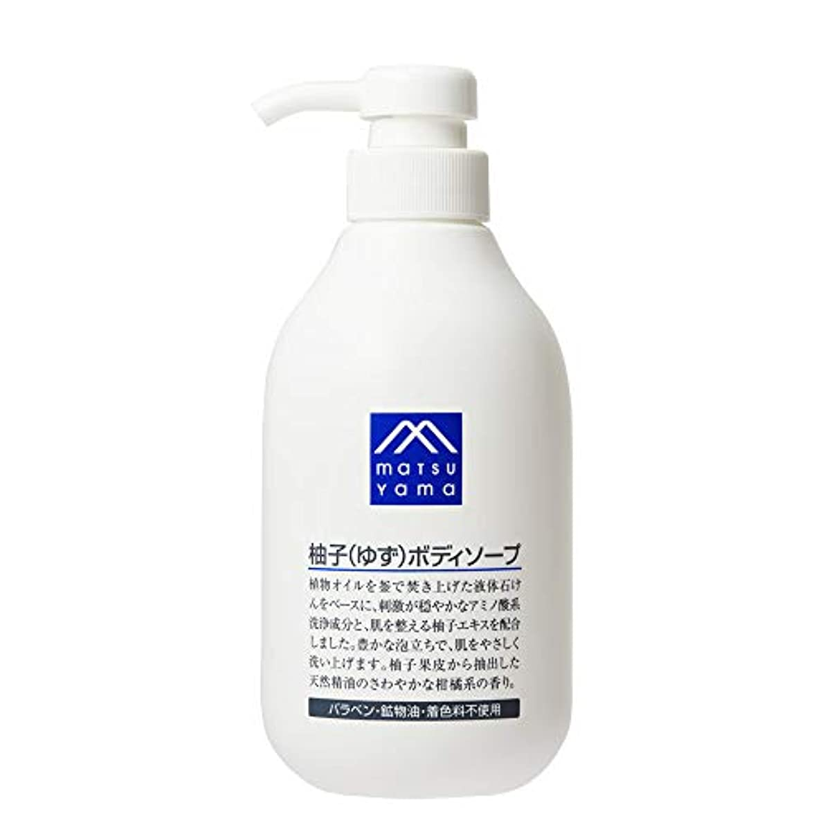 建物樹皮メダリストM-mark 柚子(ゆず)ボディソープ