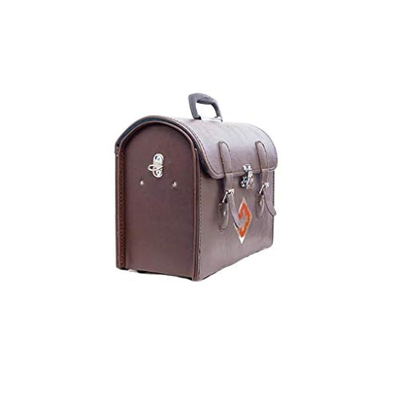 雑種達成可能安全革薬箱家庭薬収納ボックス多機能救急箱医療肥厚外来パッケージ AMINIY (Size : 38×18×31cm)