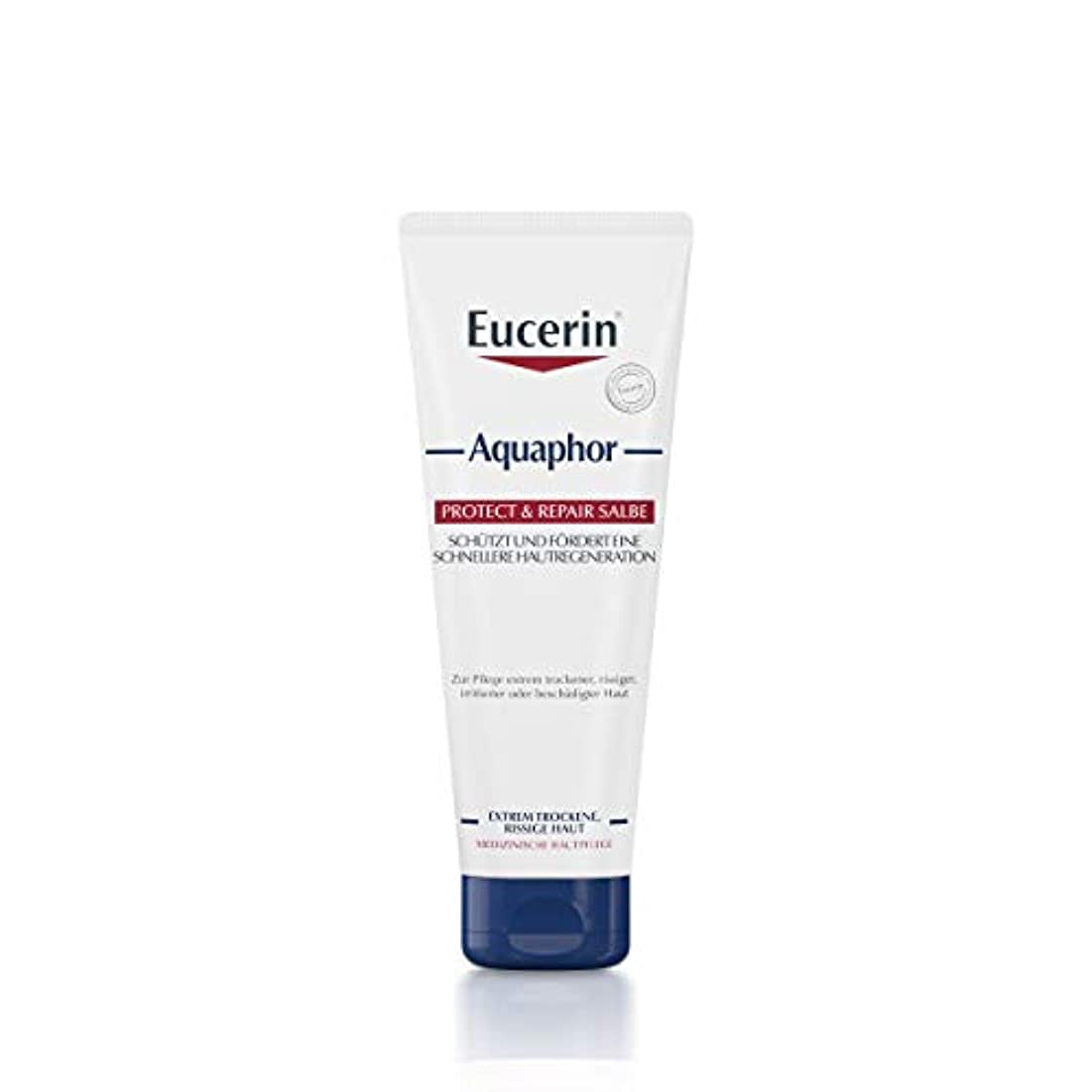 不運差し引く浸したEucerin Aquaphor Soothing Skin Balm 220ml - EucerinのAquaphor心地よいスキンクリーム220ミリリットル (Eucerin) [並行輸入品]