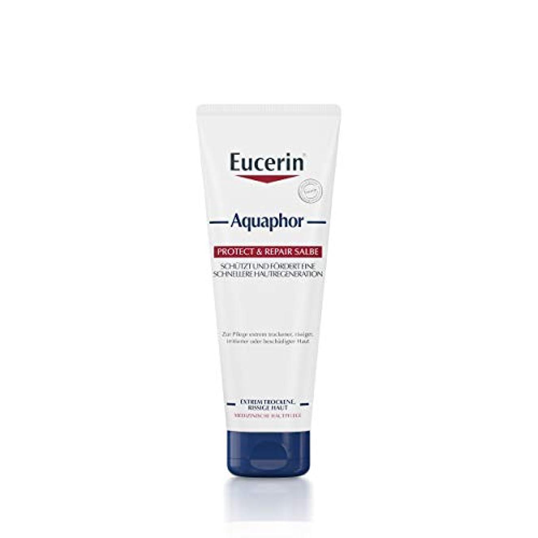 印象的な酸度襟Eucerin Aquaphor Soothing Skin Balm 220ml - EucerinのAquaphor心地よいスキンクリーム220ミリリットル (Eucerin) [並行輸入品]
