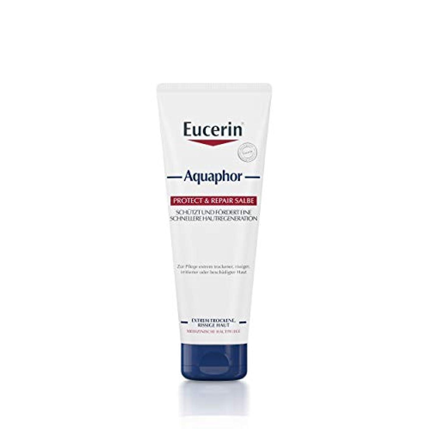 迷路発動機愛Eucerin Aquaphor Soothing Skin Balm 220ml - EucerinのAquaphor心地よいスキンクリーム220ミリリットル (Eucerin) [並行輸入品]