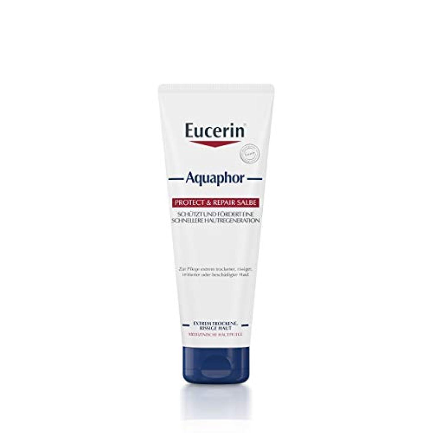 アーティストとてもサンダースEucerin Aquaphor Soothing Skin Balm 220ml - EucerinのAquaphor心地よいスキンクリーム220ミリリットル (Eucerin) [並行輸入品]