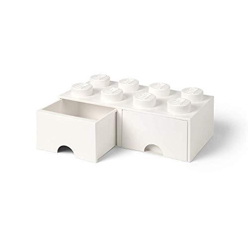 レゴ 収納ボックス 引き出しタイプ ブリック ドロワー 8 LEGO Brick Drawer 8 (ホワイト)