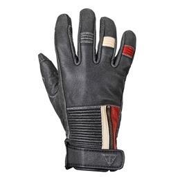 Triumph Ravenブラックメッシュとレザーオートバイ手袋...