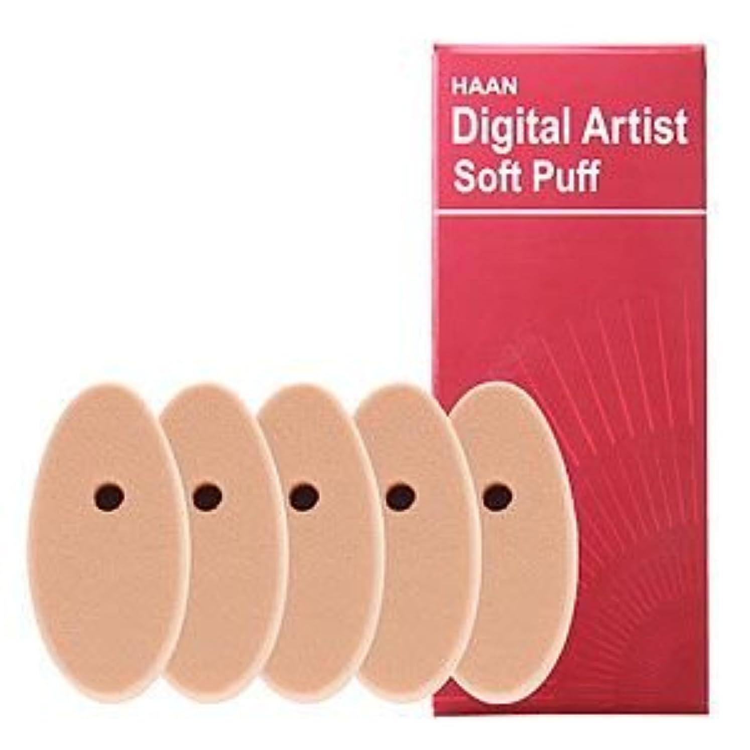 水陸両用アフリカ人木曜日HAANデジタルアーティストHAANデジタルアーティスト専用ソフトパフ5個