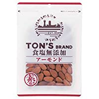 東洋ナッツ食品 トン 食塩無添加 アーモンド 95g×10袋入×(2ケース)