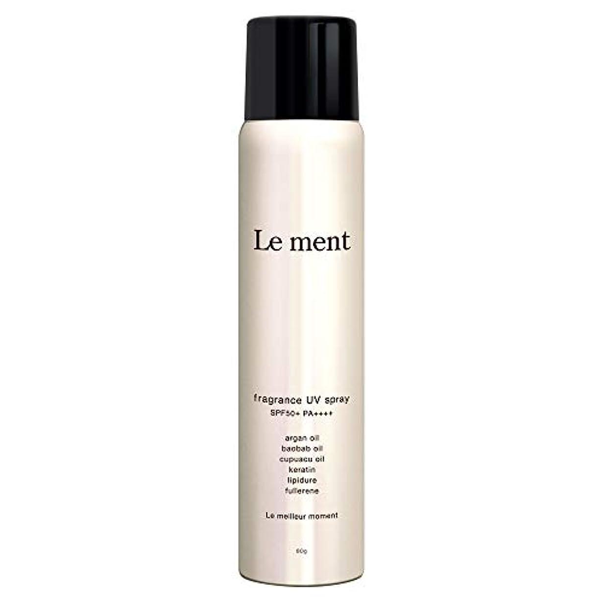 横試すグラフィックLe ment - fragrans UV spray -