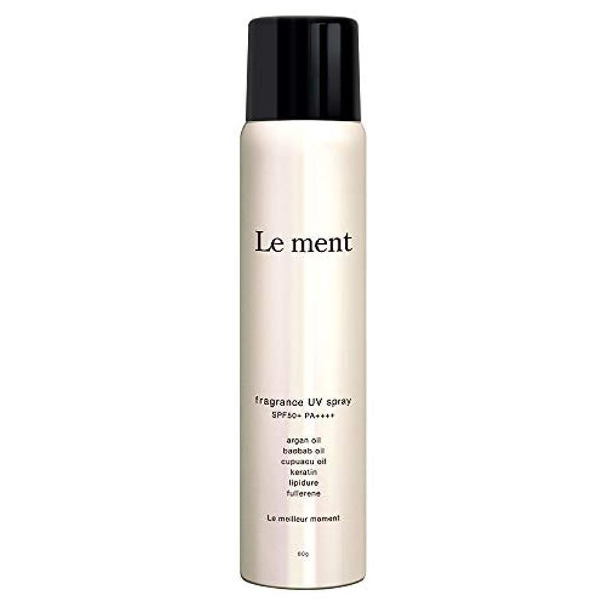 違反する五月親密なLe ment - fragrans UV spray -
